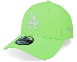 Los Angeles Dodgers Neon Pack 9FORTY Neon Green/White Adjustable - New Era