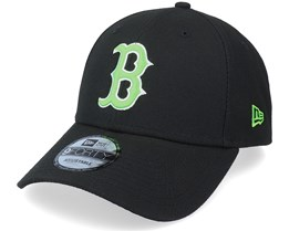 Boston Red Sox Neon Pack 9Forty Black/Green Adjustable - New Era