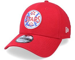 Minor League Patch 9FORTY Scarlet Adjustable - New Era