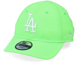 Kids Los Angeles Dodgers Infant Neon Pack 9FORTY Neon Green/White Adjustable - New Era