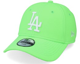 Kids Los Angeles Dodgers Chyt Neon Pack 9FORTY Neon Green Adjustable - New Era