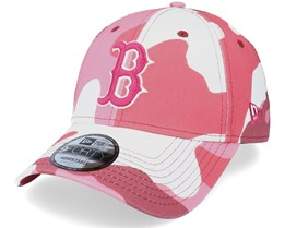 Boston Red Sox Camo Pack 9Forty Maroon Camo Adjustable - New Era