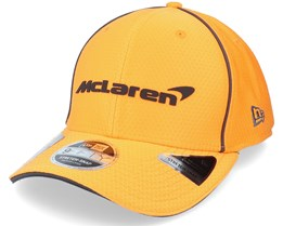 McLaren Team Hex Era 9Fifty Stretch-Snap Orange Adjustable - New Era