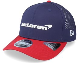 McLaren Special Edition USA 9Fifty Stretch-Snap Navy/Red Adjustable - New Era