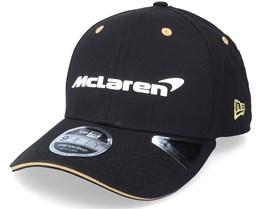 McLaren Special Edition Monaco 9Fifty Stretch-Snap Black Adjustable - New Era