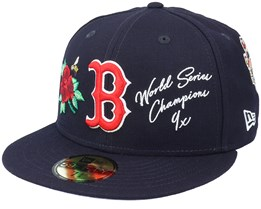 Boston Red Sox MLB Icon 59FIFTY Navy Fitted - New Era