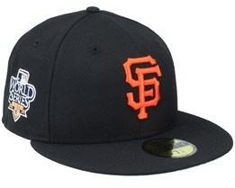 San Francisco Giants 59FIFTY MLB Paisley Undervisor Black Snapback - New Era