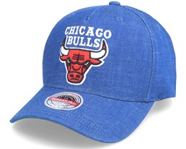 Chicago Bulls Warm Up Stretch Blue Adjustable - Mitchell & Ness