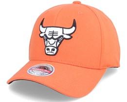 Chicago Bulls Orange 110 Adjustable - Mitchell & Ness