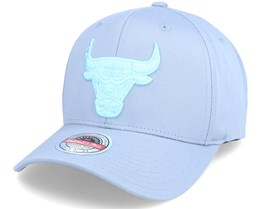 Chicago Bulls Blue Tint Red Grey Adjustable - Mitchell & Ness