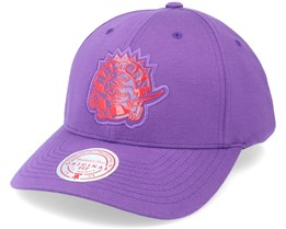 Toronto Raptors Prime Low Pro Purple Adjustable - Mitchell & Ness
