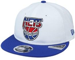 Brooklyn Nets Maj 9Fifty White/Blue Snapback - New Era