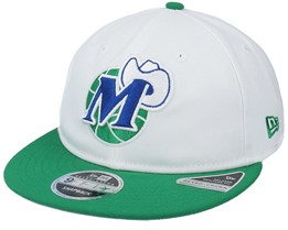 Dallas Mavericks 9Fifty Bot White/Green Snapback - New Era