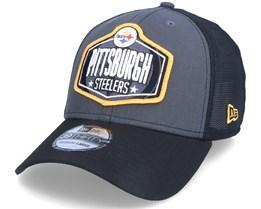 Pittsburgh Steelers 39Thirty NFL21 Draft Dark Grey/Black Flexfit - New Era