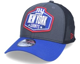 New York Giants 39Thirty NFL21 Draft Dark Grey/Blue Flexfit - New Era