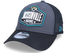 Jacksonville Jaguars 39Thirty NFL21 Draft Dark Grey/Black Flexfit - New Era