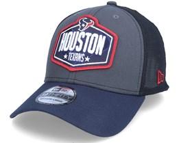Houston Texans 39Thirty NFL21 Draft Dark Grey/Navy Flexfit - New Era
