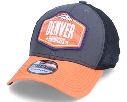 Denver Broncos 39Thirty NFL21 Draft Dark Grey/Orange Flexfit - New Era