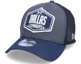 Dallas Cowboys 39Thirty NFL21 Draft Dark Grey/Navy Flexfit - New Era