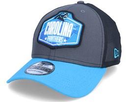 Carolina Panthers 39Thirty NFL21 Draft Dark Grey/Blue Flexfit - New Era