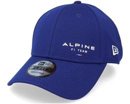 Alpine F1 Fancap Flawless 9Forty Dry Blue Adjustable - New Era