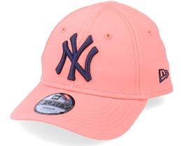 Kids New York Yankees Toddler League Essential 9FORTY Pink/Navy Adjustable - New Era