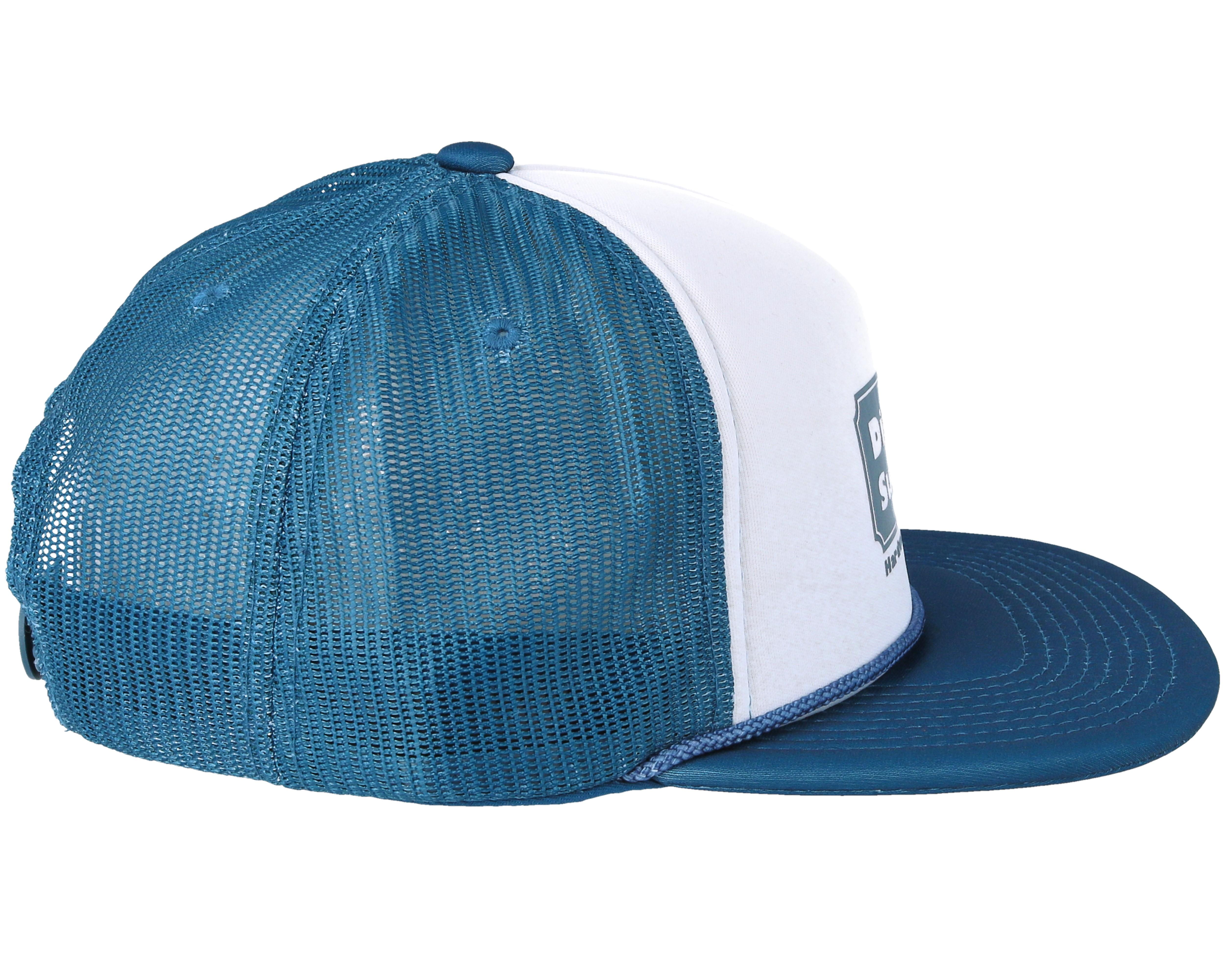 Hardware Trucker Navy Snapback Diamond Cap Hatstore Nl
