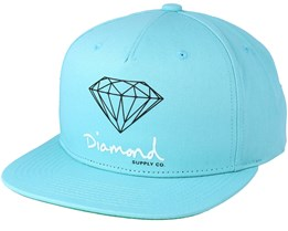 Sign Diamond Blue Snapback - Diamond