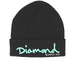 Script Black Cuff - Diamond