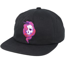 91b3c2ef2 High N Rolling Snapback - Black- Diamond cap - Hatstore.co.in
