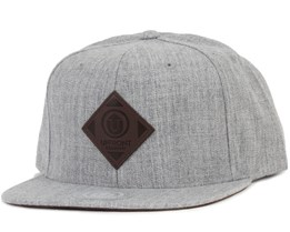 Offspring Light Grey/Brown Snapback - Upfront