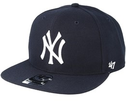 NY Yankees Sure Shot Navy/White Snapback - 47 Brand
