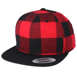 cheap for discount 21212 64620 Yupoong Check Red Snapback - Yupoong £17.99. Mitchell   Ness ...
