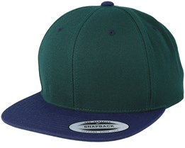 Spruce/Navy Snapback - Yupoong