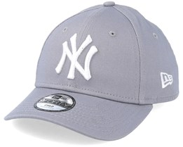 2876c1a3236 Kids NY Yankees Basic Grey 940 Adjustable - New Era