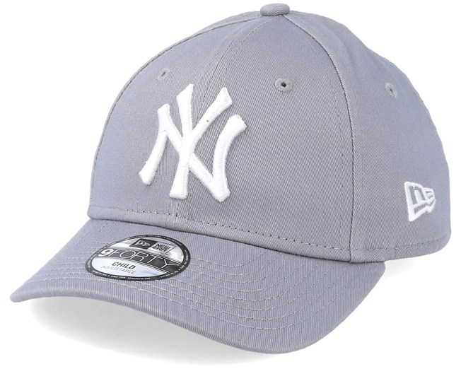 0f914c23116a00 Kids NY Yankees Basic Grey 940 Adjustable - New Era caps | Hatstore ...