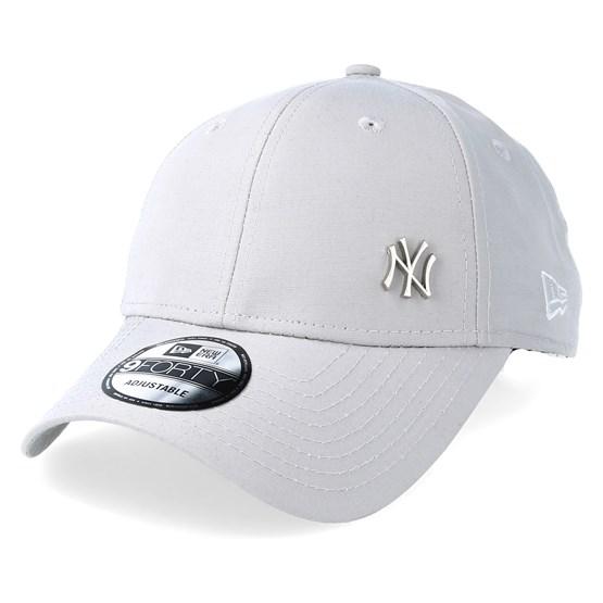 0b29acc7c NY Yankees Flawless Grey 940 Adjustable - New Era caps | Hatstore.co.uk