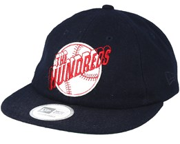 Hitter New Era Navy Strapback - The Hundreds