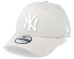 NY Yankees League Essential Stone White 940 Adjustable - New Era 08b5e22fc22a