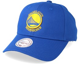Golden State Warriors Low Pro Royal Adjustable - Mitchell & Ness