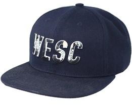 Inlay Navy Blazer Snapback - WeSC