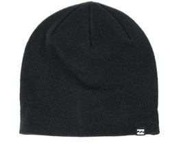 All Day Heather Black Beanie - Billabong