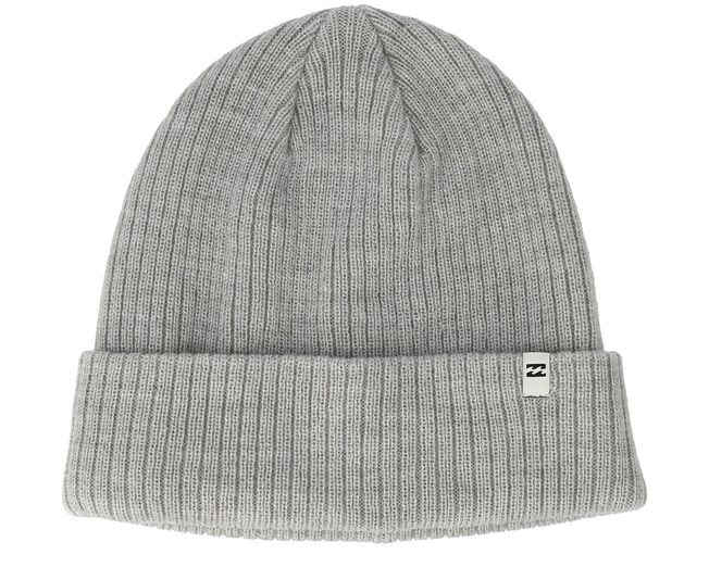 Arcade Heather Grey Beanie - Billabong - Start Boné - Hatstore 5090499113f
