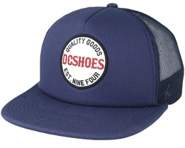 Toolshed Navy Trucker Snapback - DC