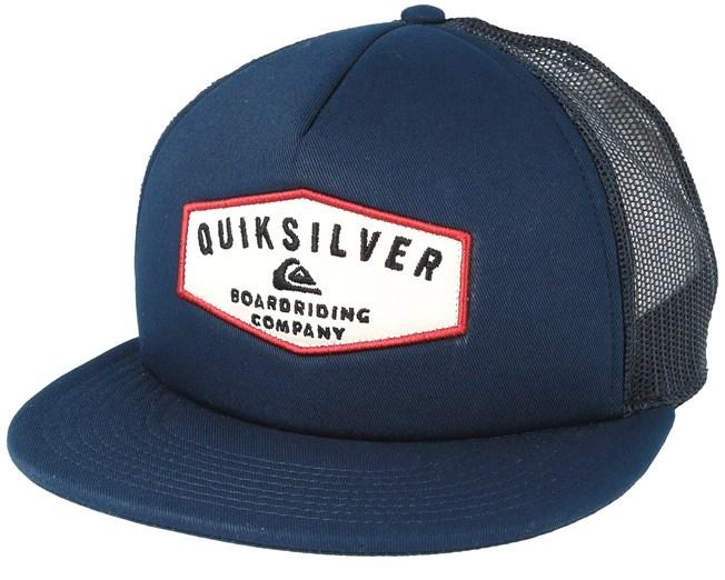 Jetty Grind Dark Blue trucker Snapback - Quiksilver - Start Gorra - Hatstore 3abf72a4115