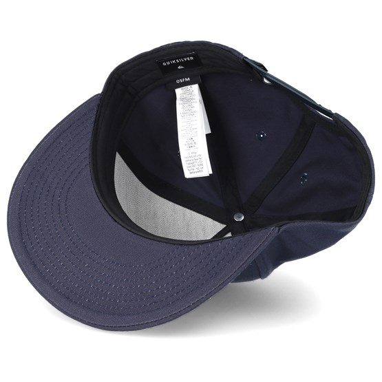 new product ef5df 72ab5 Mouthy Navy Snapback - Quiksilver caps   Hatstore.co.uk