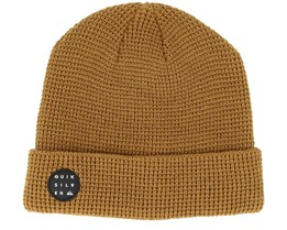 Local Brown Beanie - Quiksilver