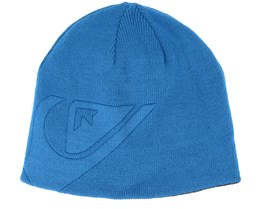 Kids M&W Youth Blue Beanie - Quiksilver