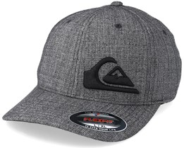 Final KTAH Charcoal/Black Flexfit - Quiksilver