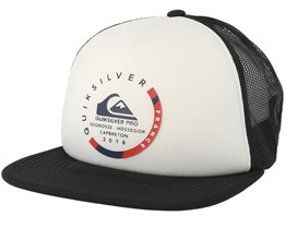 Pro France White/Black Trucker - Quiksilver